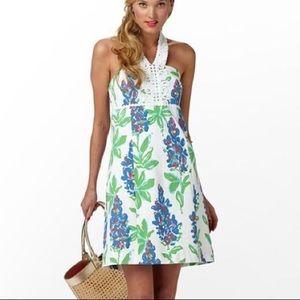NWOT Lilly Pulitzer Floral Halter Dress Resort